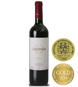 Laudumn alcanta-crianza Gold Medal Image